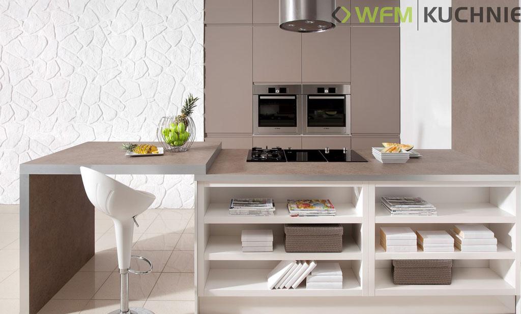 Kuchnie nowoczesne -> Castorama Kuchnia Piano Bialy